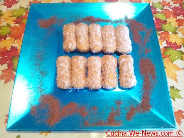 Sfiziosi dolcetti con nutella e cocco ricetta dolce for Cucina facile ricette